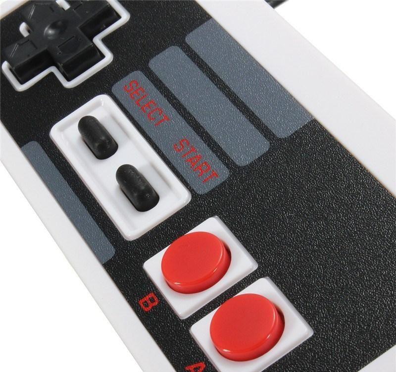 Controle Usb Nintendo 8 Bits Nes Emulador Computador Pc Mac