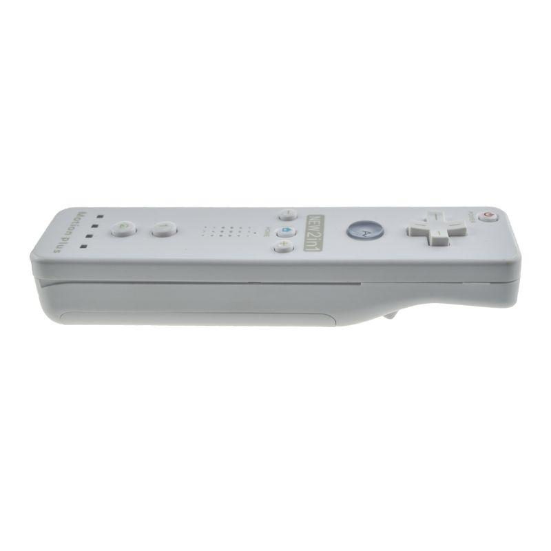 Controle Wii Remote Motion Plus Nintendo Wii Branco Wii U