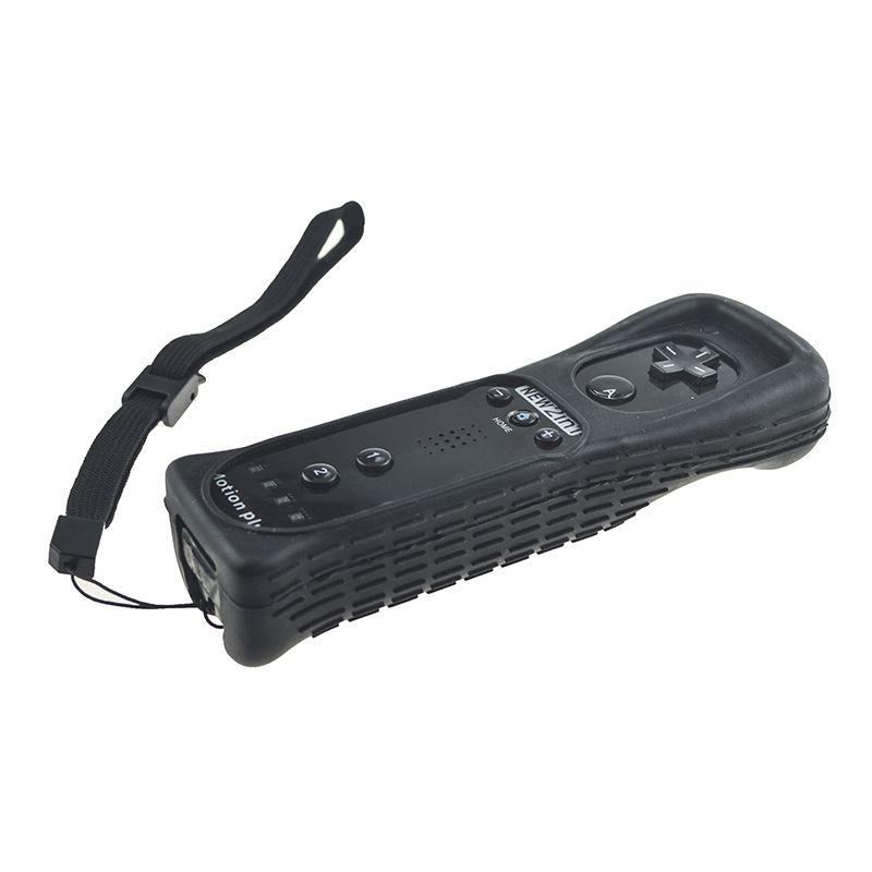 Controle Wii Remote Motion Plus Nintendo Wii Preto Wii U