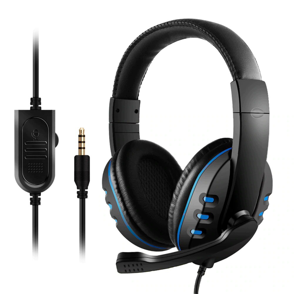 Fone De Ouvido Headset P3 Playstation 4 PS3 Xbox One PC