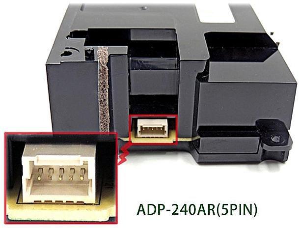Fonte Original Playstation 4 Fat PS4 Bivolt 5Pinos ADP-240AR