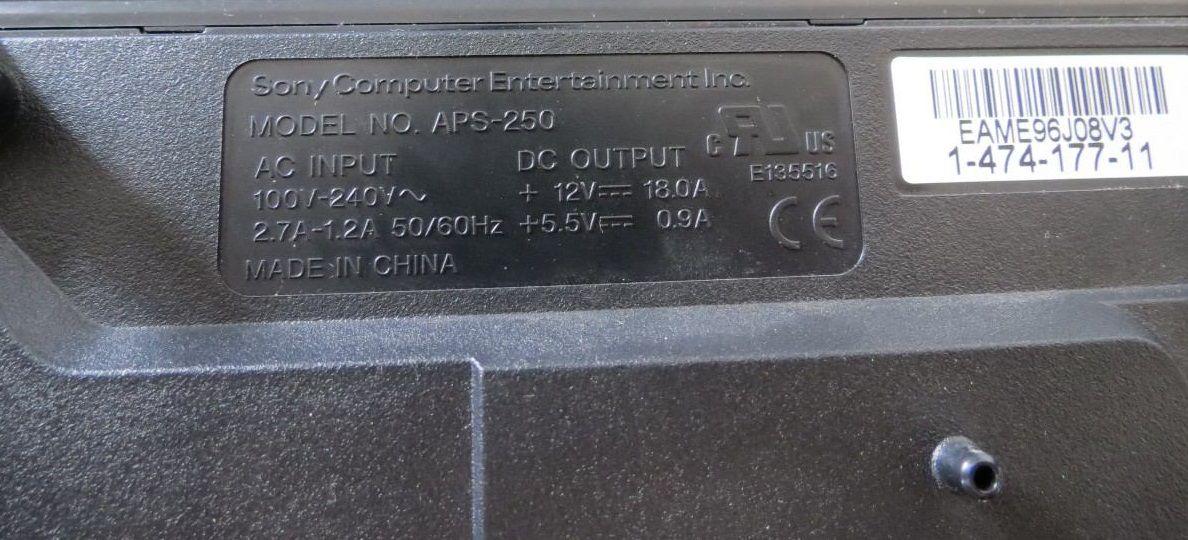 Fonte Playstation 3 Slim Original Aps-250 Aps-270 Eadp-200bb