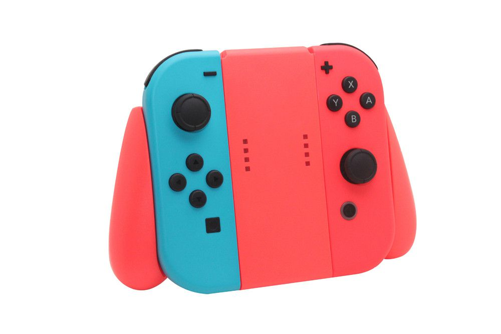 Grip Suporte De Controle Joy Con Nintendo Switch Vermelho