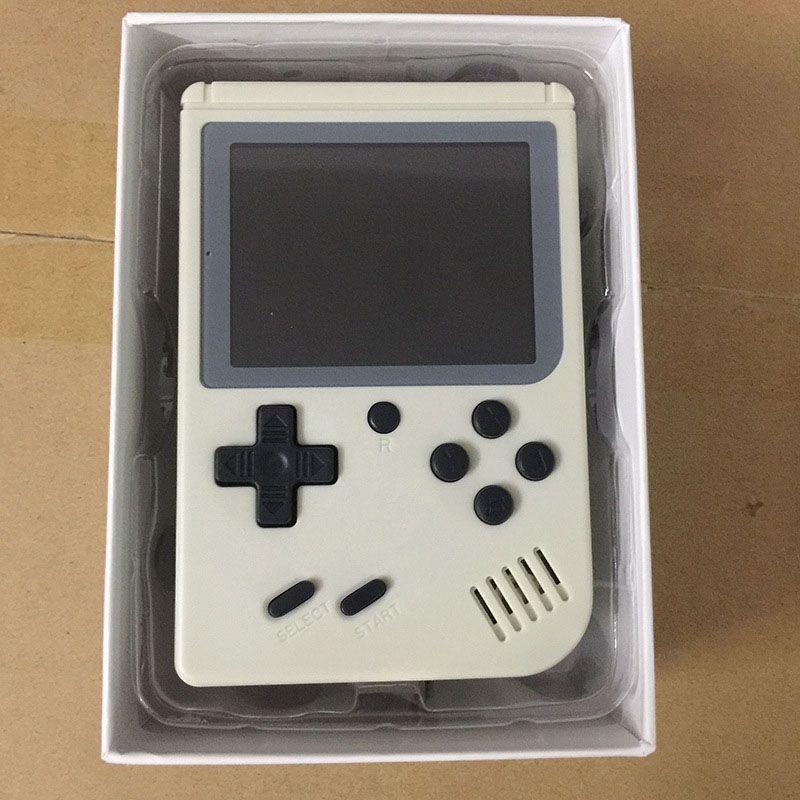 Mini Video Game Portátil 168 Jogos Clássicos 8bit Branco