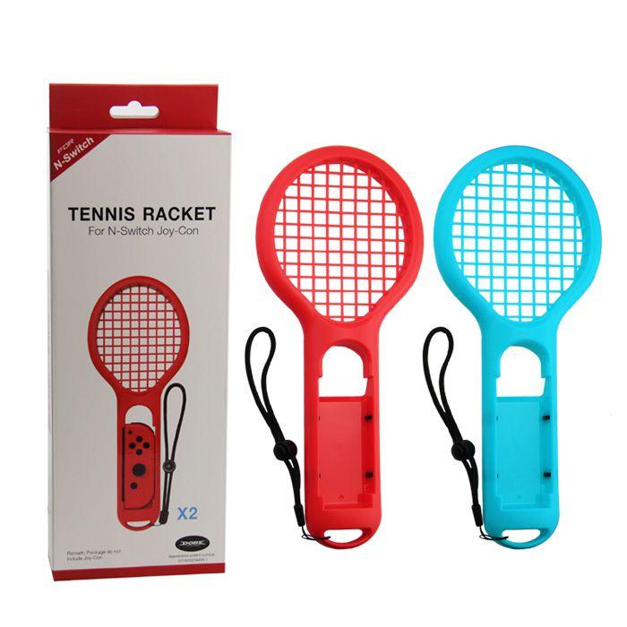 Par Raquete Tênis Nintendo Switch Joy-con Mario Ping-Pong