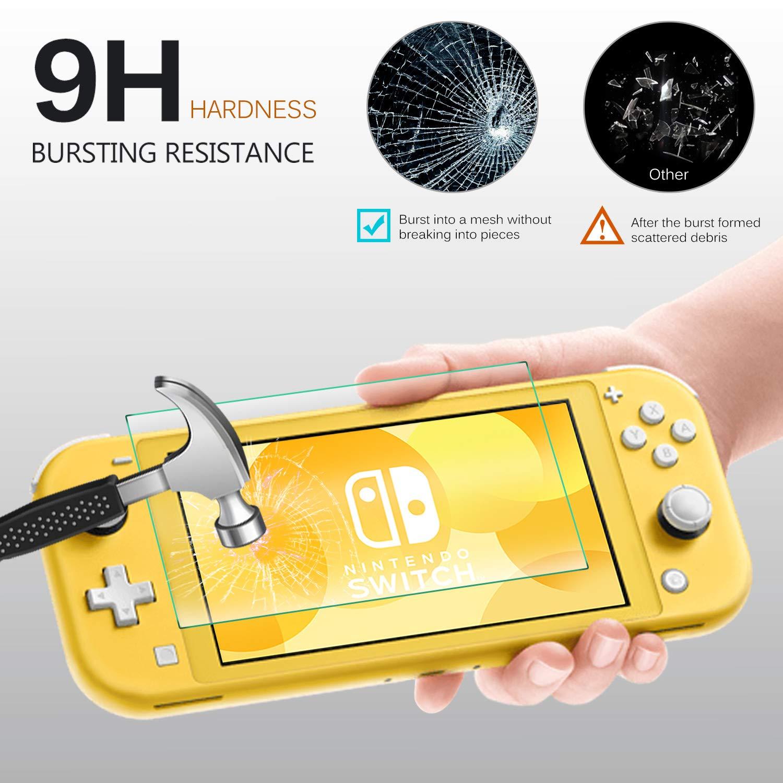 Película De Vidro Protetora Glass Para Nintendo Switch Lite