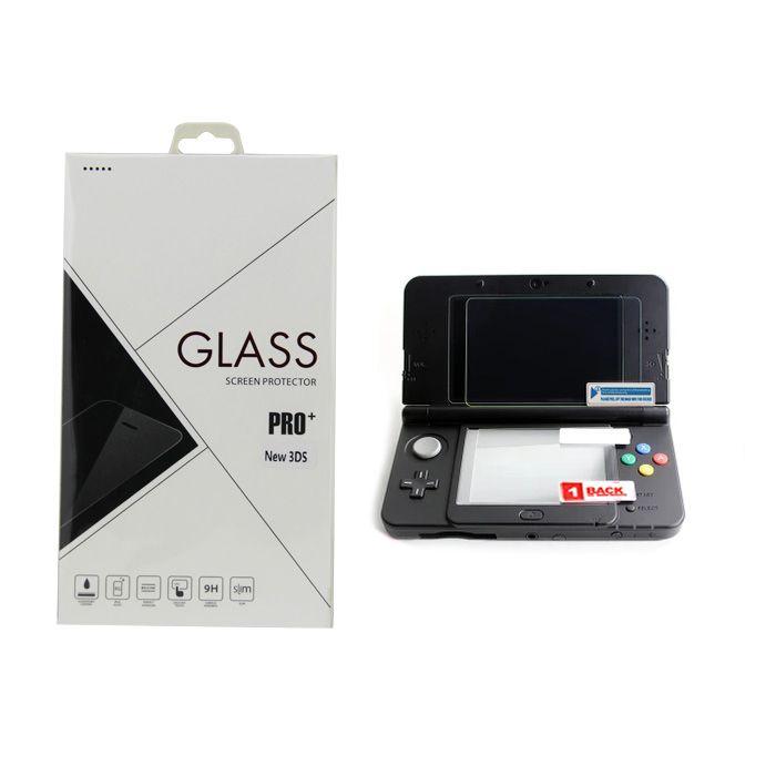 Película De Vidro Protetora Glass Pro+ Para Nintendo New 3DS