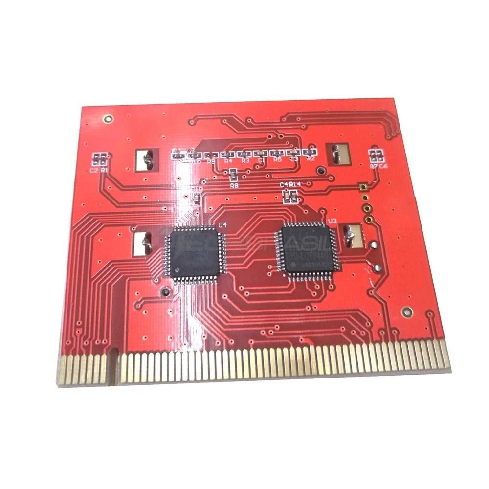 Placa Diagnóstico Pc Analyzer Com Visor Lcd Debug Computador