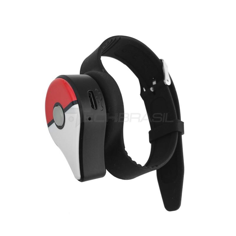 Pokémon Go Plus Captura Automática + Bateria Recarregável