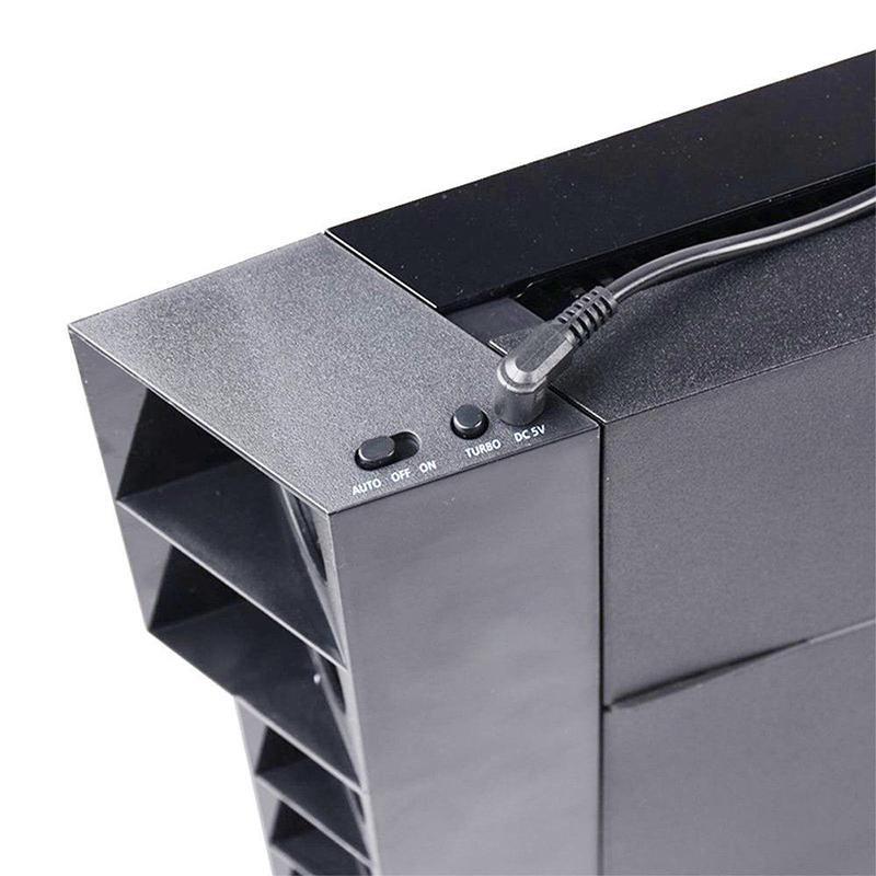 Super Cooler Playstation 4 Ventilador Traseiro Ps4 Play 4