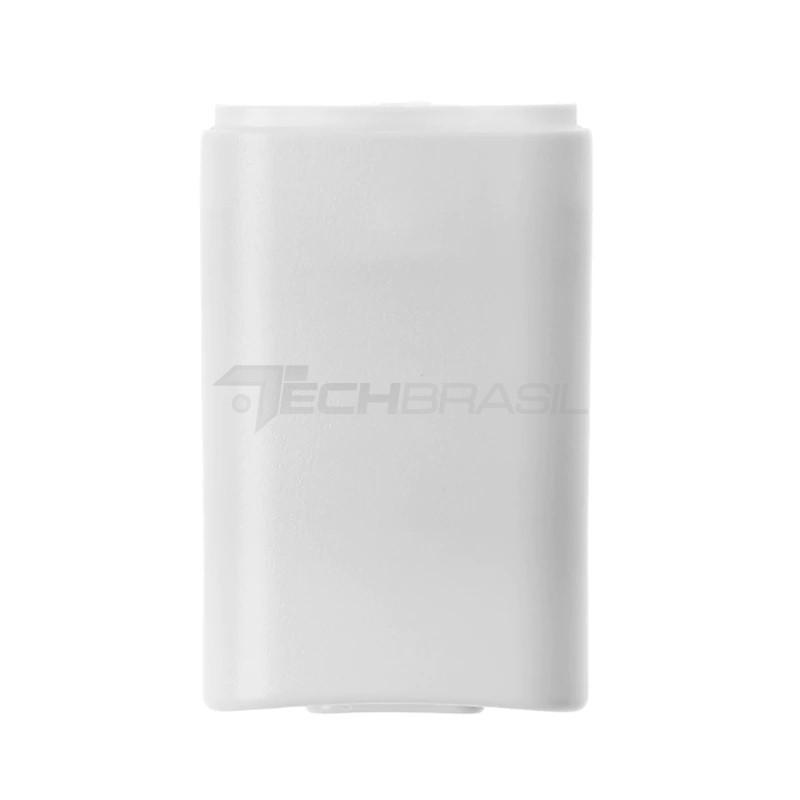2 Suporte De Pilhas Controle Xbox 360 Tampa De Bateria Branca