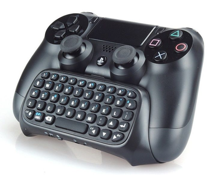 Teclado Chatpad Bluetooth Wireless P/ Controle Playstation 4