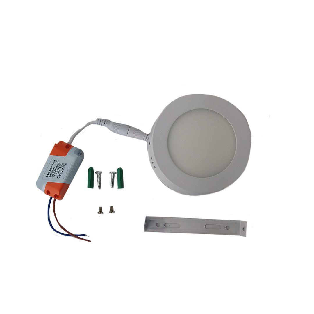 LAMPADA SOBREPOR LED 15CM 9W
