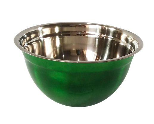 BACIA INOX COLOR VERDE
