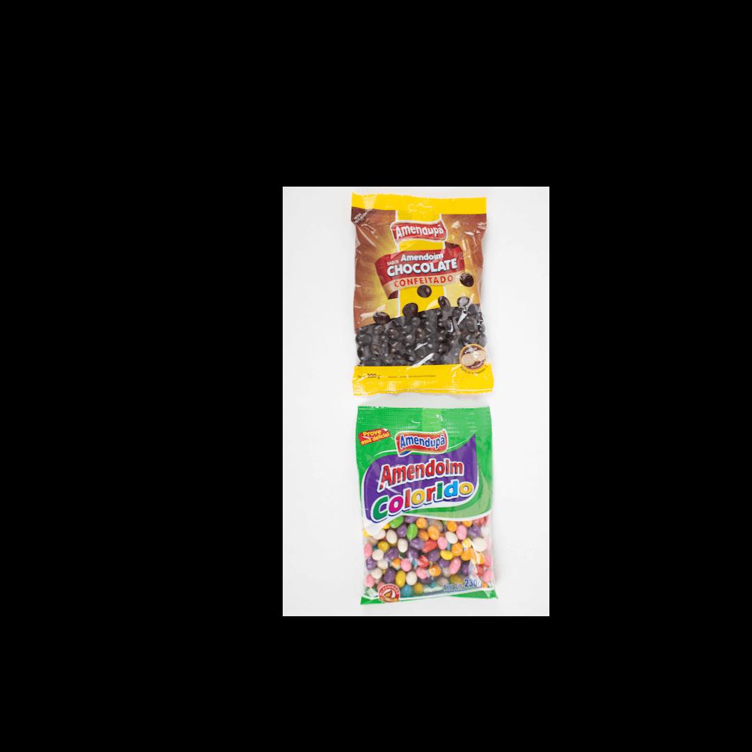 Kit 2 Pacotes de Amendoim Amendupã 230g