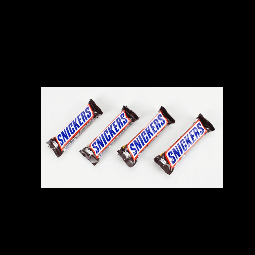 Kit com 4 Chocolates Snickers 45 g
