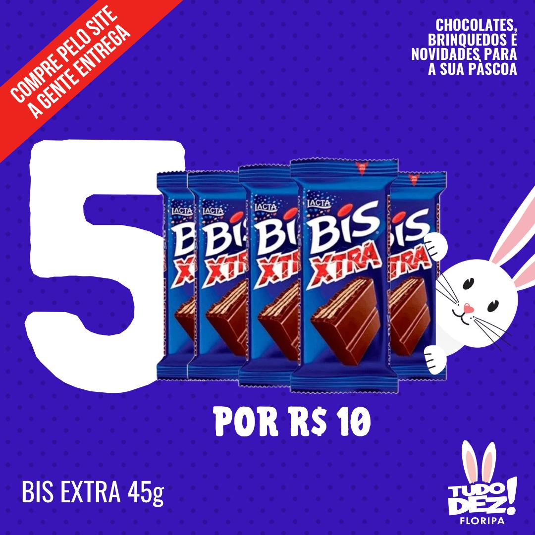 Kit com 5 Bis Extra 45 g
