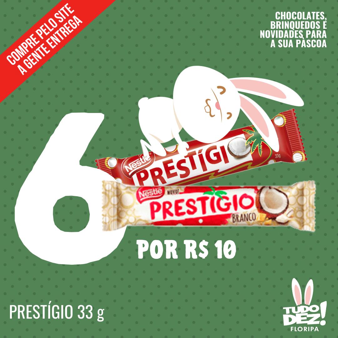 Kit com 6 chocolates Prestígio 33 g