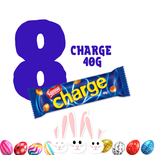 Kit Páscoa - 8 chocolates Charge