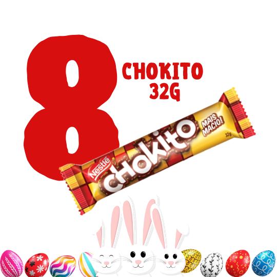 Kit Páscoa - 8 chocolates Chokito