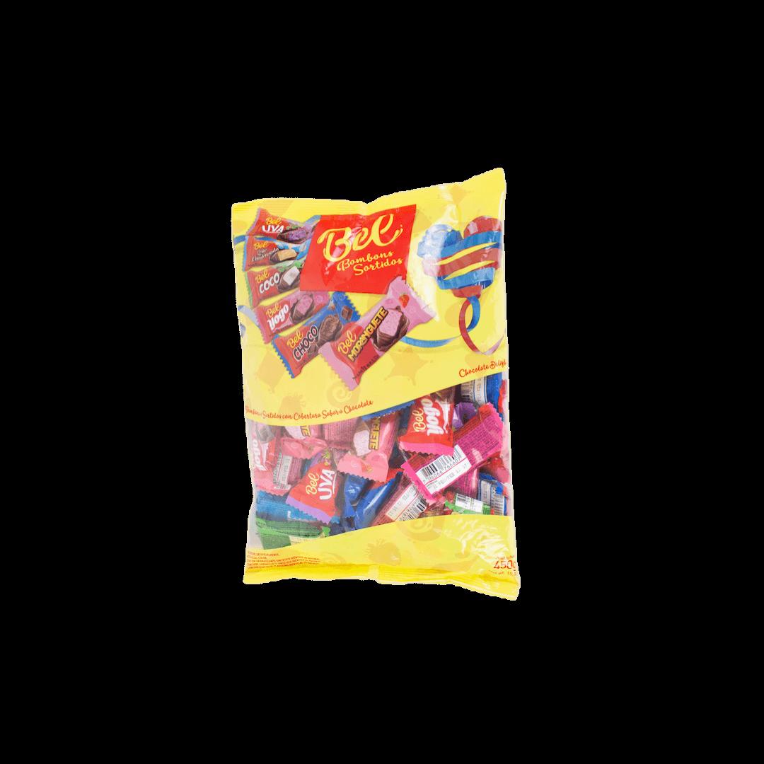 Pacote de Bombons Sortidos Bel 450 gr