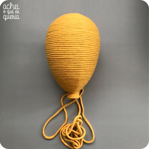 Balão Macramê SEM Bicho - Tamanho M