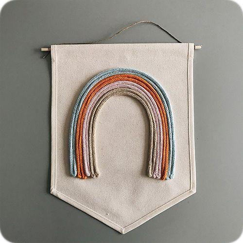 Bandeirola Arco-Iris Escandinavo