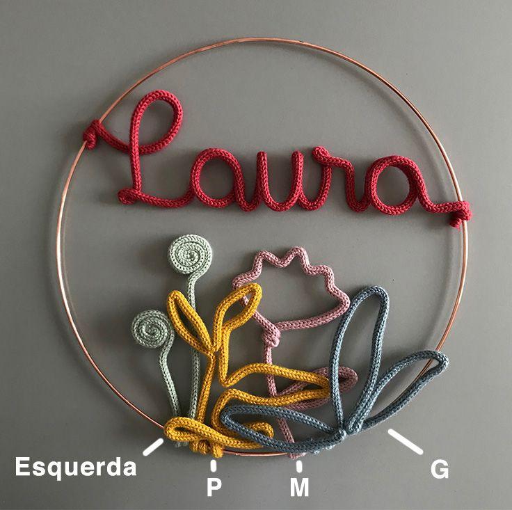 Guirlanda Amelie - Porta Maternidade