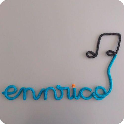 Nome com Balão de Nota Musical