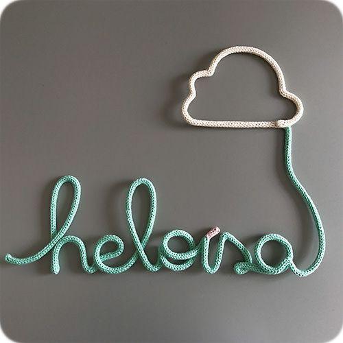 Nome com Balão de Nuvem