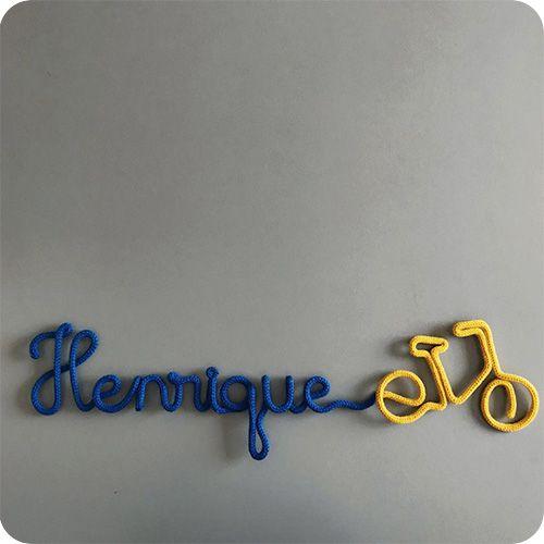 Nome Emendado na Bike - Porta Maternidade
