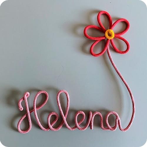 Nome Emendado na Flor - Porta Maternidade