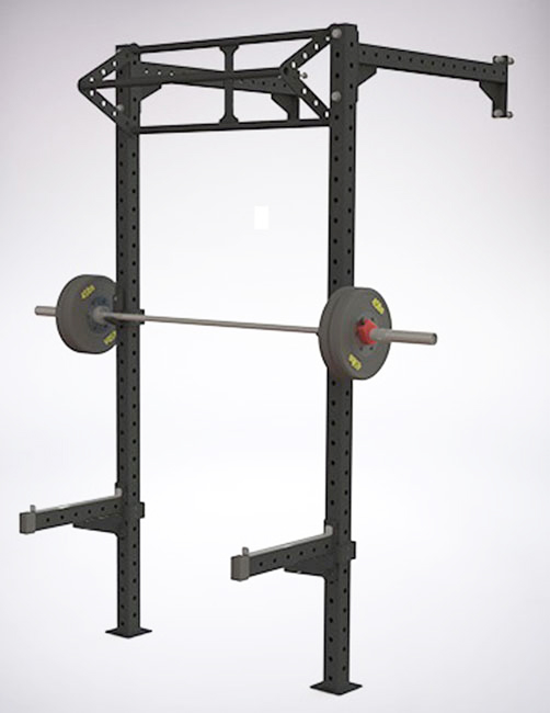 Gaiola Rack Barra Tripla - 0190