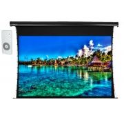 Tela de Projeção Elétrica Tensionada Tahiti 16:9 WScreen 160 Polegadas 3,54 m x 1,99 m TTTE-040