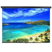 Tela de Projeção Retrátil Standard Tahiti 4:3 Vídeo 100 Polegadas 2,03 m x 1,52 m TTRS-003
