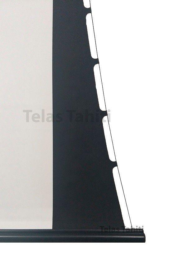 Tela de Projeção Elétrica Tensionada Tahiti 16:9 WScreen 72 Polegadas 1,59 m x 0,90 m TTTE-006