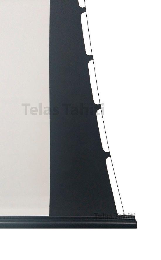 Tela de Projeção Elétrica Tensionada Tahiti 16:9 WScreen 84 Polegadas 1,86 m x 1,05 m TTTEP-007