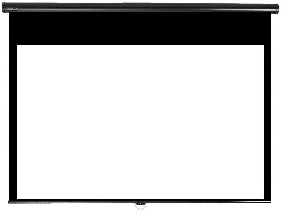 Tela de Projeção Retrátil Prime Tahiti 16:9 WScreen 119 Polegadas 2,63 m x 1,48 m TTRP-010