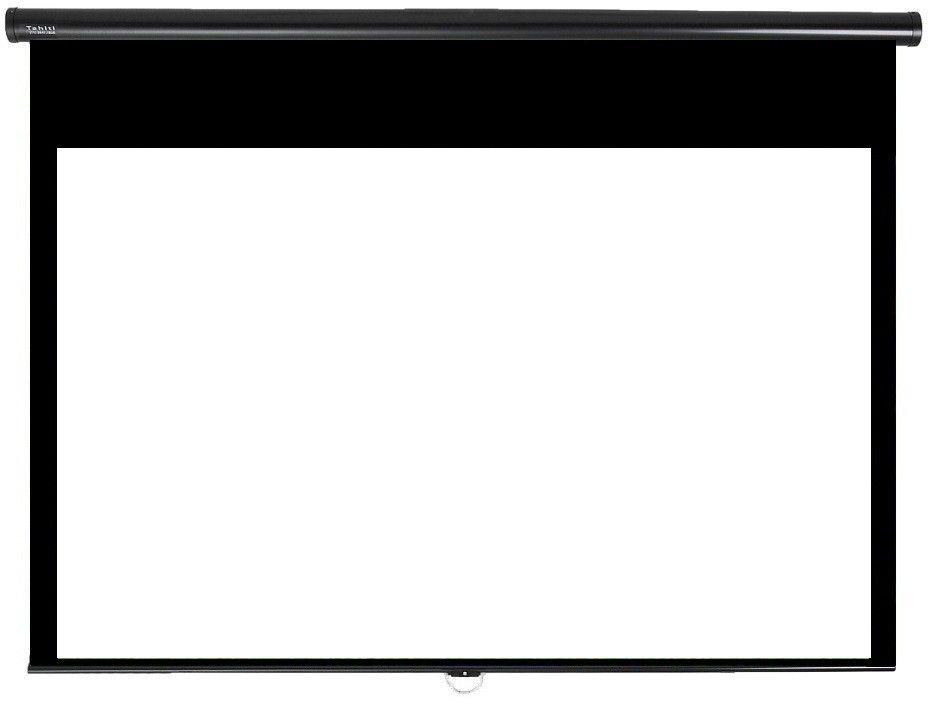 Tela de Projeção Retrátil Prime Tahiti 16:9 WScreen 84 Polegadas 1,86 m x 1,05 m TTRP-007