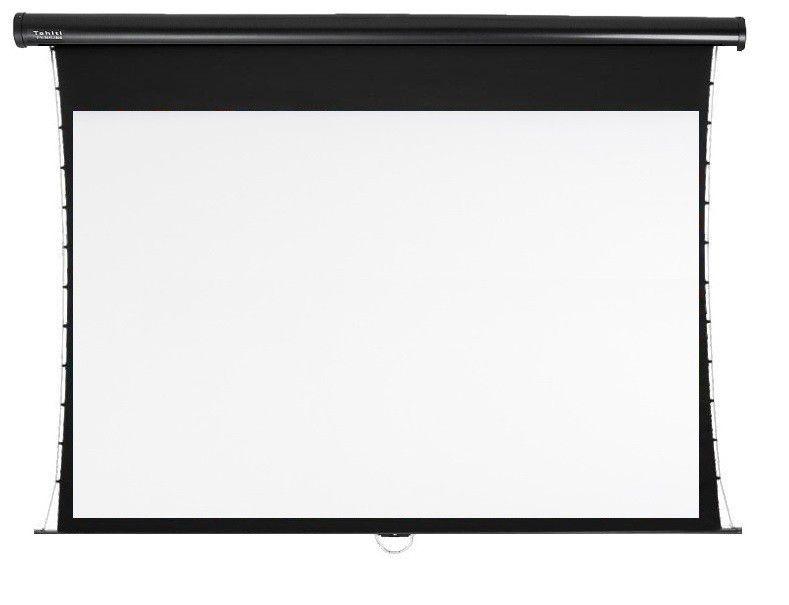 Tela de Projeção Retrátil Tensionada Tahiti 16:9 WScreen 106 Polegadas 2,35 m x 1,32 m TTTR-009