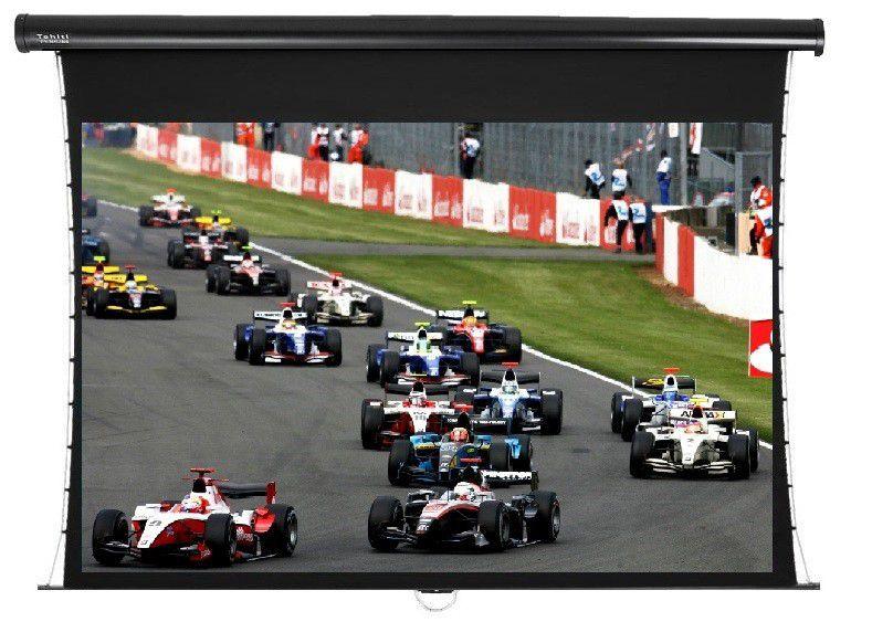 Tela de Projeção Retrátil Tensionada Tahiti 16:9 WScreen 92 Polegadas 2,04 m x 1,15 m TTTR-008