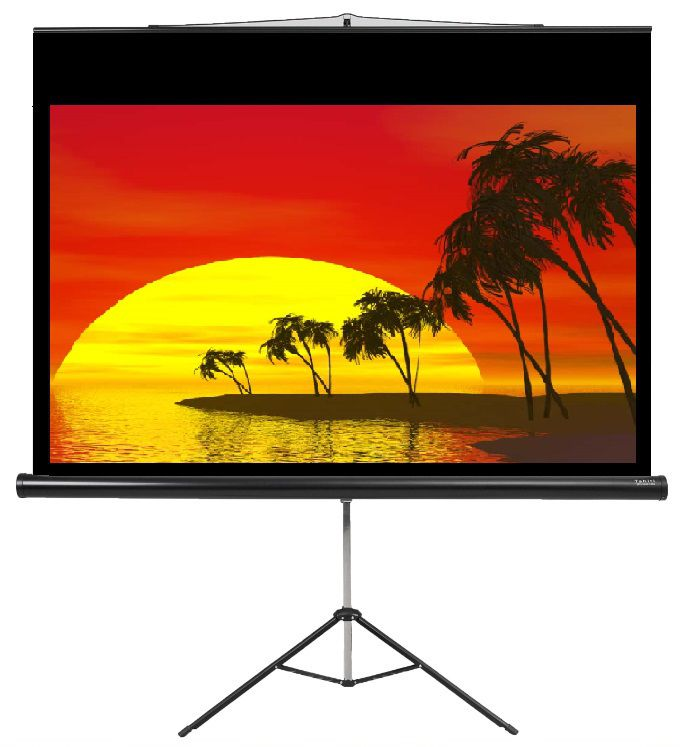 "Tela de Projeção Tripé Prime Tahiti 16:9 WScreen 119"" 2,63 m x 1,48 m TTTP-010"