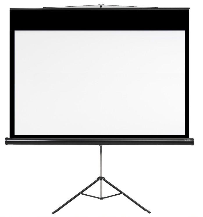 "Tela de Projeção Tripé Prime Tahiti 4:3 Vídeo 120"" 2,44 m x 1,83 m TTTP-004"