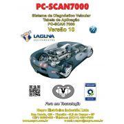 Atualização 10 scanner automotivo PC-SCAN7000 versão 1,2 e 3  NAPRO