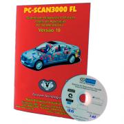 Atualização 19 Scanner Automotivo PC-SCAN3000 USB versão 1 até 11 NAPRO