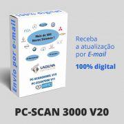 Atualização 20 Scanner Automotivo PC-SCAN3000 USB versão 17 e 18 NAPRO