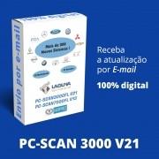 Atualização 21 Scanner Automotivo PC-SCAN3000 USB versão 15 NAPRO