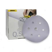 Caixa com 100 Discos Lixa Q.Silver 150mm Grip 7H P4000 MIRKA