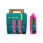 Pack 6 Bio Coolant Pronto Uso Rosa RADIEX