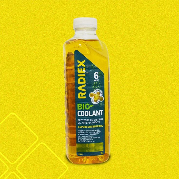 Bio Coolant Superconcentrado Amarelo 1L RADIEX